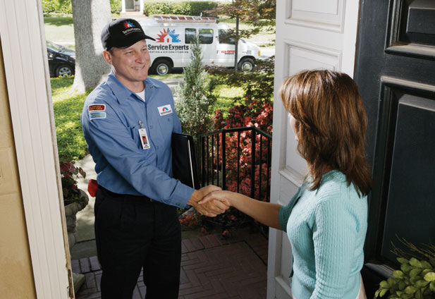in-home estimate from McKinley Heating Service Experts Heating & Air Conditioning